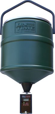 Krm�tko On Time� 100 lb. Capacity Hanging Hopper with Tomahawk Digital Feeder Timer
