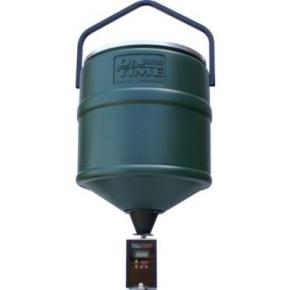 Krm�tko On Time� 100-lb.-Capacity Hanging Hopper with Tomahawk Digital Feeder Timer