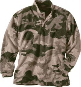 Mikina Cabela's Outfitter's™ Microfleece WindShear™ Henley